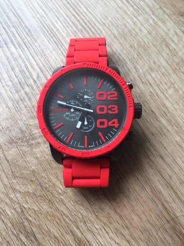 Relógio Dz4289 Diesel Vermelho