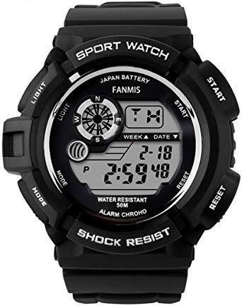 Fanmis S-shock Multi Función Digital De Cuarzo Reloj Led Re