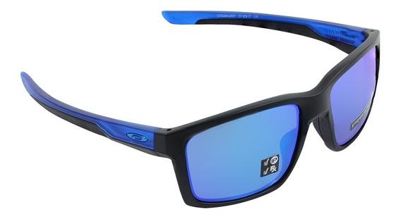 Óculos Oakley Mainlink Sapphire Preto Matte