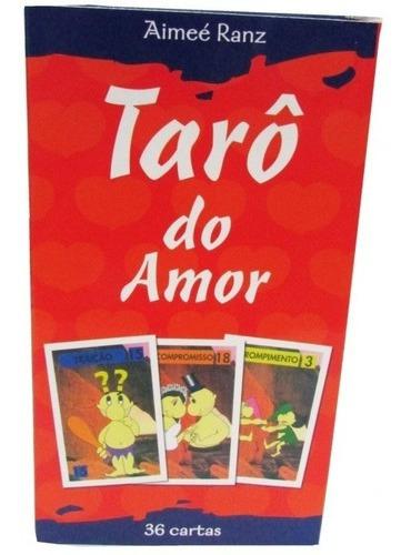 Tarô Do Amor Baralho Com 36 Cartas Aimeé Ranz Edit. Alfabeto
