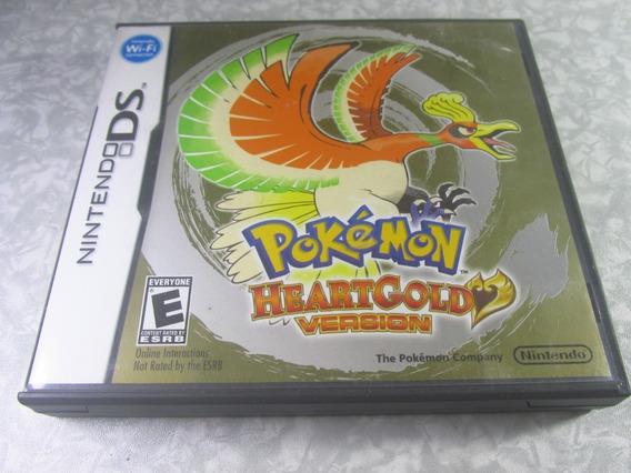 Nintendo Ds - Pokémon Heartgold - Original Americano