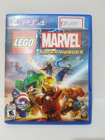 Jogo Lego Marvel Super Heroes - Ps4 - Importado - Fisica