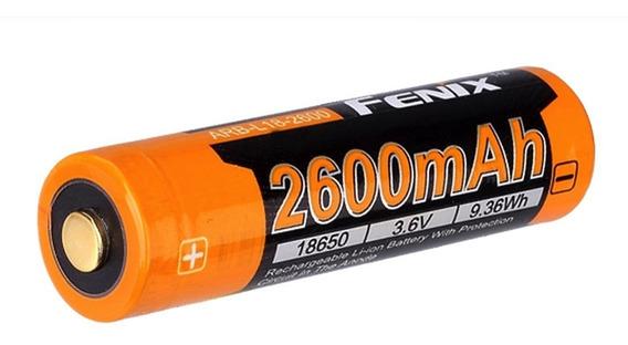 Bateria De Alto Desempenho 18650 Fenix Arb L18 2600 Mah