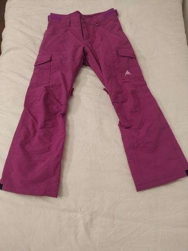 Imagen 1 de 2 de Pantalón Ski Burton Talle 10-12 Años