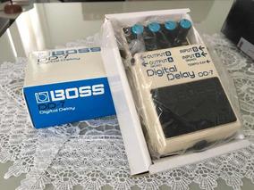 Pedal Boss Dd7 - Digital Delay (guitarra E Teclado)