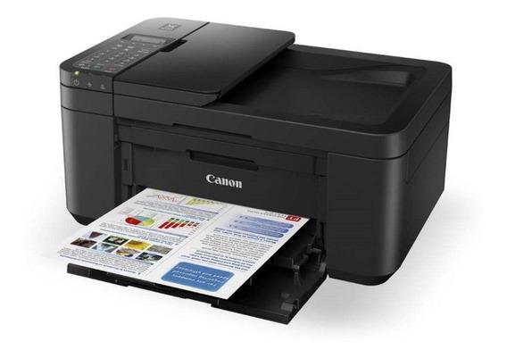 Impressora Multifuncional Canon Pixma Cor Wifi 110v E4210