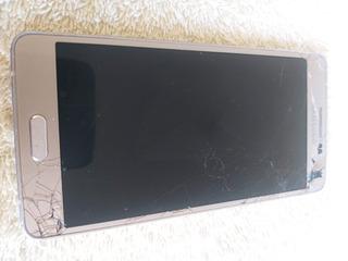 Celular Samsung A5 Tela Quebrada Placa Boa Leia A Descrição