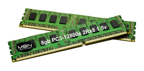 Memória 8gb Ddr3 Ecc Udimm Servidor Hp Proliant Ml110 G7 Microserve Gen8 Ml310e Dl320e G8 Ml10 V2 Workstation Z420 Z620