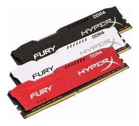 Memória Ddr4 2400mhz 4gb Hyperx Fury Oficial Kingston