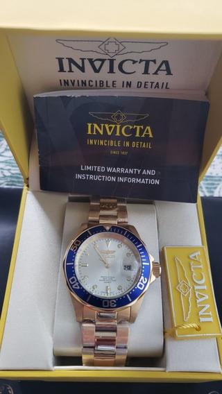 Relógio Invicta Modelo 14124 18 K Importado Eua