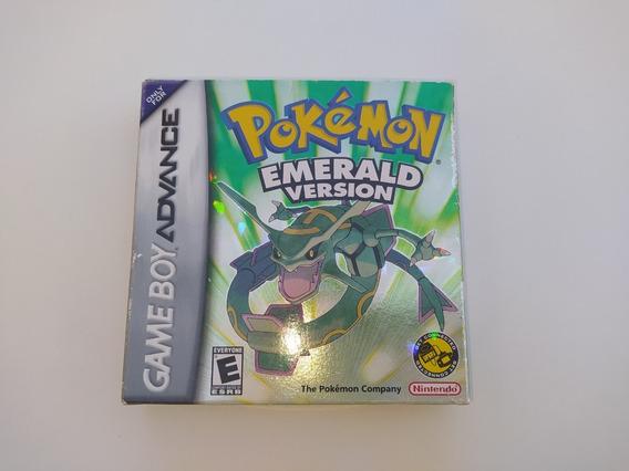 Pokemon Emerald Original Completo - Game Boy Advance