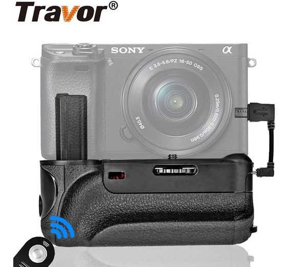 Battery Grip Travor Bg-3dir Sony Alpha A6000 A6300