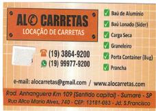 Aluguel / Locação De Carretas