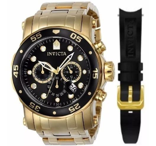 Relógio Invicta Pro Diver 23650 Troca Pulseira Frete Gratis