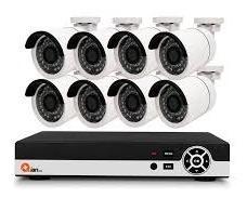 Kit Vigilancia Qian 8 Camaras / 8 Canales Pentahibrido (qkc8d81901)