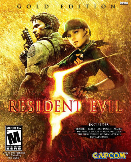 Resident Evil 5 Gold Edition ( Mídia Física) Pc