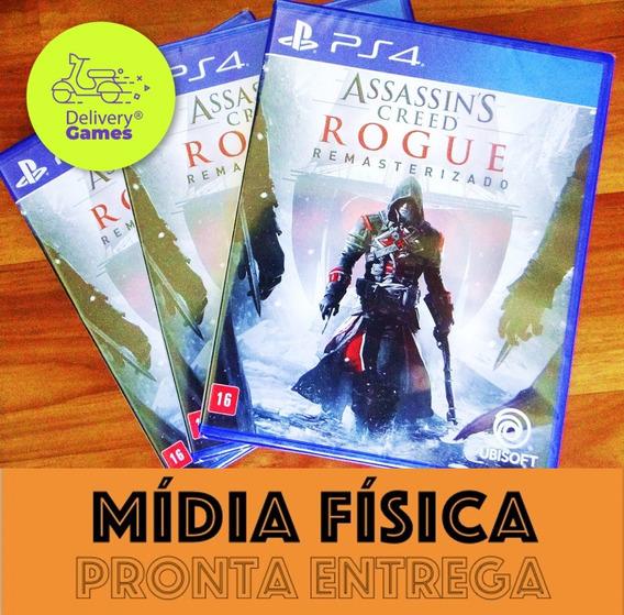 Assassins Creed Rogue Remastered Ps4 Mídia Física Lacrado