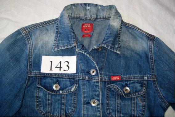 Jaqueta Jeans Da Marca Miss Sixty - Tam M Fem - (cod. J143)