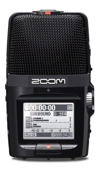 Gravador Digital Zoom H 2 Handy Recorder