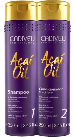 Cadiveu Açaí Oil - Kit De Tratamento Duo (2 Produtos)