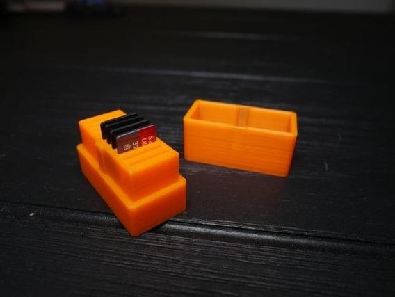 Caixa Micro Sd - Espaço Para 10 Cartões