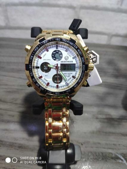 Relógio Golden Hour