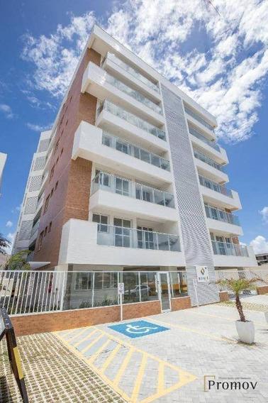 Vendo! Ótimo Apartamento Em Frente A Praia - Smart Residence - Ap0545