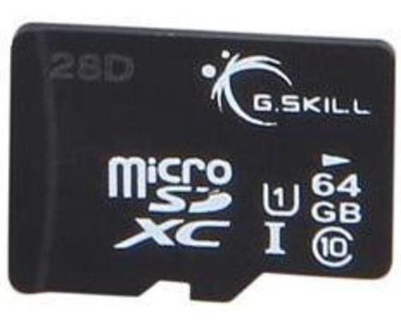 Cartão De Memória - Microsdxc - 64gb - G.skill - Ff-tsdxc64