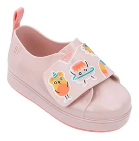 Mini Melissa Go Sneaker + Turma Do Pudim