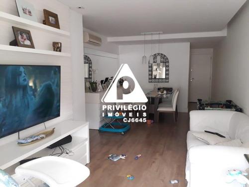 Imagem 1 de 23 de Apartamento À Venda, 3 Quartos, 1 Suíte, 2 Vagas, Botafogo - Rio De Janeiro/rj - 27332