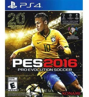 Ps4 Pes Pro Evolution Soccer 2016