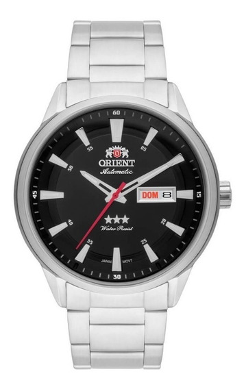 Relógio Orient Automatico Masculino Preto C/nf 469ss065 P1sx