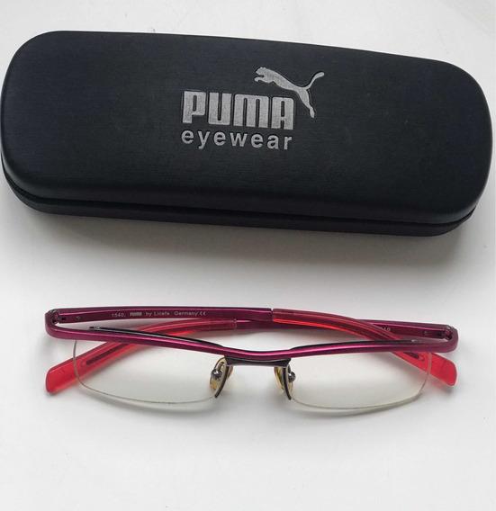 Armação De Óculos Da Puma