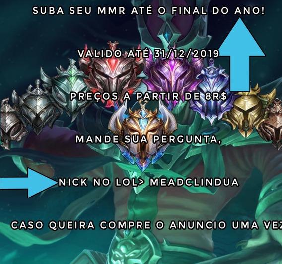 Promoção -elojob, Solo/flex, Md10 League Of Legends