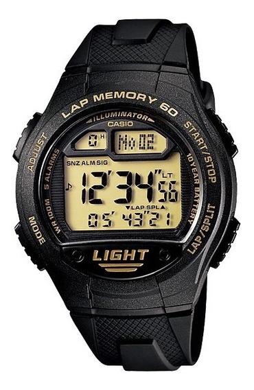 Relógio Casio Digital W-734-9avdf - Original