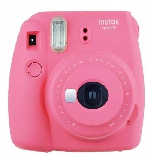 Camera Instantanea Fujifilm Instax Mini 9 Cor-rosa Flamingo