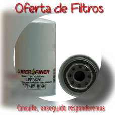 Oferta De Filtros Luber Finer Lff3526