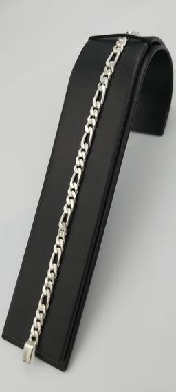 Pulso Pulsera 3x1 Pura Plata Fina 925 Unisex Broche Caja