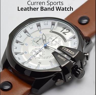 Relógio Masculino Importado Curren 8176