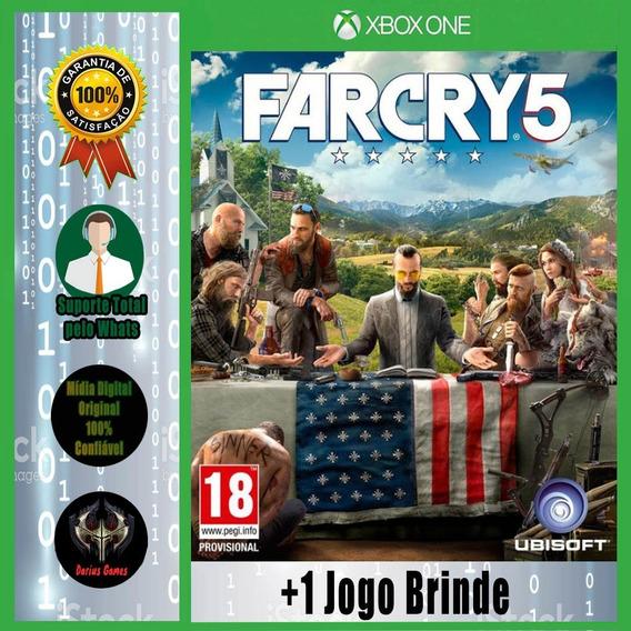 Far Cry 5 Gold Edition Xbox One Midia Digital +1 Jogo Brinde