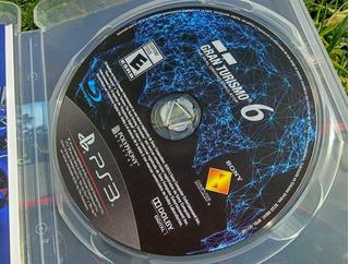 Gran Turismo 6 Ps3 Playstation 3 [ Excelente Estado ]