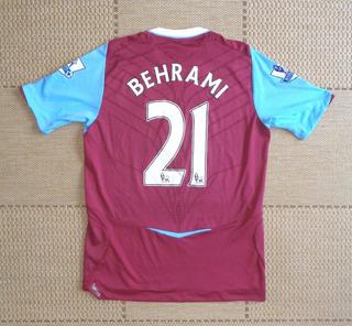 Camisa Original West Ham 2008/2009 Home #21 Behrami