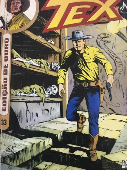 Revista Tex Edição De Ouro Vol.33