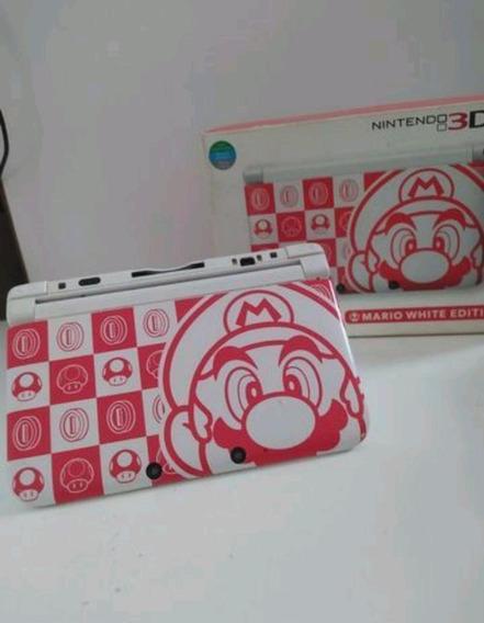 Nitendo 3ds Xl Edição Especial Mario Desbloq Jogos 3ds 32gb
