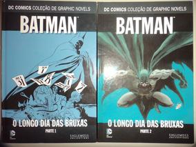 Graphic Novels Batman O Longo Dia Das Bruxas 1 E 2 Eaglemoss