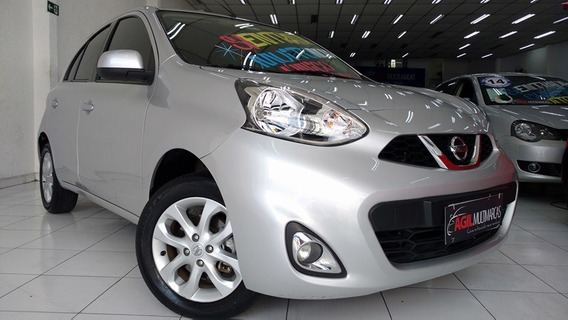 Nissan March 1.0 Sv Único Dono 2016 Prata