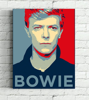 Quadro David Bowie Impressão Em Tela De Pintura 30x40