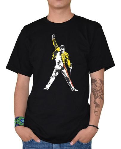 Imagen 1 de 5 de Playera Hombre Freddie Mercury Mod-1