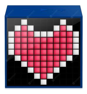 Parlante Pcbox Divoom 5w Azul Timebox Mini