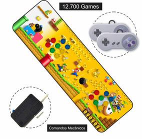 Fliperama Portátil 12700 Jogos Hdmi 5m Arcade Só Ligar Na Tv